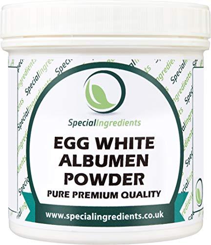 Special Ingredients Egg White Albumen Powder 500g - Premium Quality, Non GMO, European