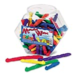 Learning Resources Measuring Worms, 72 Assorted Color Worms, Early Math Skills, Ages 5+