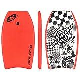 Osprey Stingray Bodyboard con Correa Boogie Board para niños, Unisex Adulto, Stingris/Rojo, 83,8 cm (33 Pulgadas)
