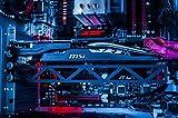 Fourth Level Manufacturing Grafikkartenunterstützung mit Unterstützung für GPU-Grafikkarten für personalisierte Desktop-PC-Spiele (Bitcoin Mining) 12 Zoll Schwarz