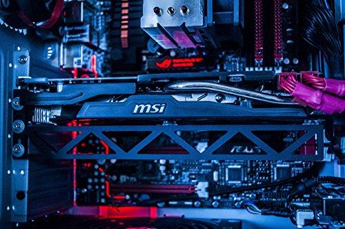 Fourth Level Manufacturing, Atlas Graphics Card Brace Support. A Video Card Holder, GPU Brace, for Custom Desktop Pc Gaming. a GPU Stand case mod. Bitcoin, Mining