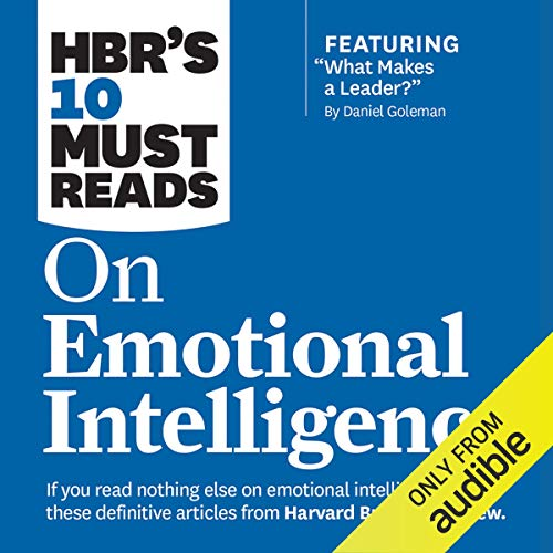 Page de couverture de HBR's 10 Must Reads on Emotional Intelligence