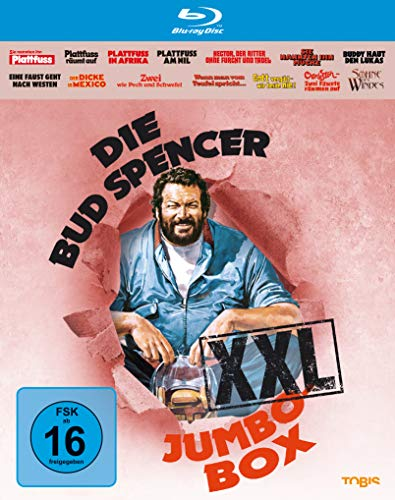 Die Bud Spencer Jumbo Box XXL [Blu-ray]