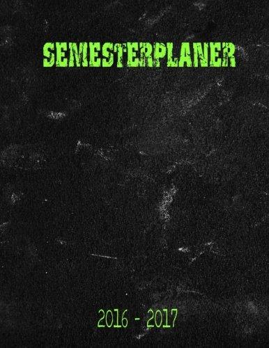 Semesterplaner 2016 -2017