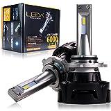 AutoSite/LEDA LED ハイビーム ヘッドライト 車検対応 一体型 レダLA01 H10 HB3 HB4 フォグランプ 6000ルーメン 6000k オールインワン 12v LEDA