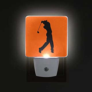 Sponsored Ad - Pro Golfer LED Night Lights with Auto Dusk to Dawn Sensor, Plug-in Warm White Wall Lights for Kids Room