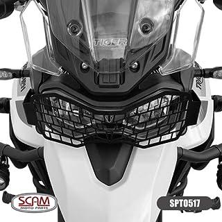 Protetor Farol Aço Carbono Tiger900 2020+ Scam Spto517