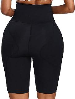 سروال داخلي هيب بادز ، سروال تحسِّن الورك ملابس داخلية لتشكيل الجسم بخصر عالٍ للنساء تقنية تنحيف البطن للسيطرة على الفخذ (...