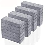 24 Pack Pumice Stone for Cleaning, Pumice Scouring Pad, Toilet Bowl Ring Remover Pumice Stick...