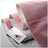 Heavy Absorbency Bed Pads, Washable and Reusable Incontinence Bed Underpads, 34'X36' (4 Pack), Waterproof Mattress Protector, Made in The USA
