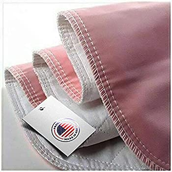 Heavy Absorbency Washable Underpads Pack of 4 Large Bed Pads 34  x 36  for use as Incontinence Bed Pads Reusable pet Pads Great for Dogs Cats Bunny & Seniors Made in The USA