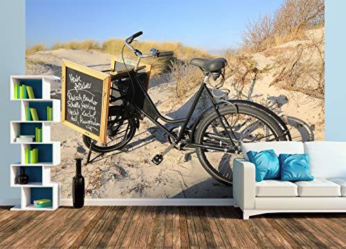 Premium Foto-Tapete Auf Hiddensee erfüllen Fahrräder viele Zwecke (versch. Größen) (Size XL | 465 x 310 cm) Design-Tapete, Wand-Tapete, Wand-Dekoration, Photo-Tapete, Markenqualität von ERFURT