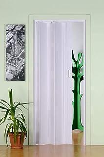 Forte PKM10021214 - Puerta fuelle unisex para adulto, color blanco, 83 x 214 cm