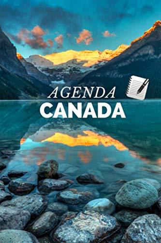 Agenda Canada: 191 páginas - dos días por página (Spanish Edition)