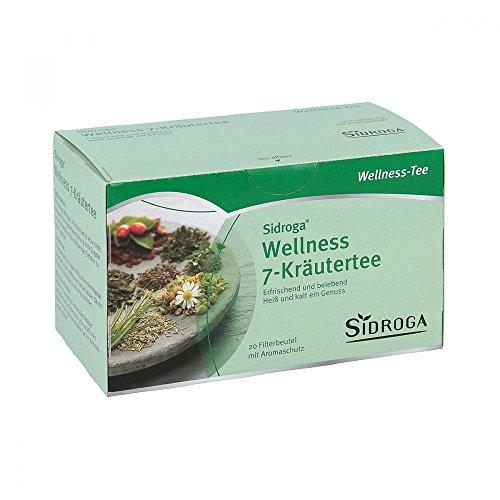 Sidroga Wellness 7 Kräutertee, 20 St