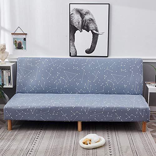 Universal Simple Folding Geometric Sofabezug Ohne Armlehnen, All-Inclusive Elastic Sofabezug Für Alle Jahreszeiten, Waschbares Antifouling Sofakissen