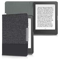 kwmobile 対応: Kobo Aura Edition 1 ケース - キャンバス 電子書籍カバー - オートスリープ reader 保護ケース