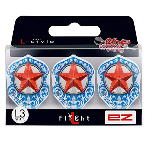 Shot! Darts L-Style L3 Shape-Wild Frontier Trailblazer Dart-Flights