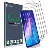 Ferilinso [4 PACK] Screen Protector for Xiaomi Redmi note 8, Redmi note 7, Redmi 7, Tempered Glass with Lifetime Replacement Warranty