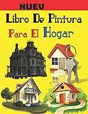 Libro De Pintura Para El Hogar: Libro para colorear de exteriores de casas para niños. 8.5 x 11 pulgadas. 50 páginas.