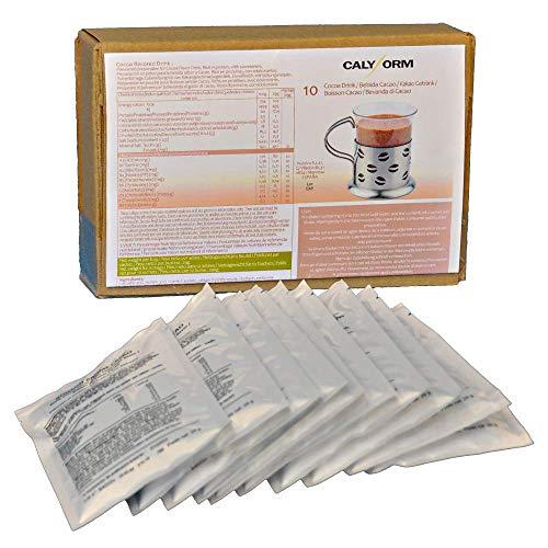 CALYFORM Batidos Proteínas para dieta sabor Cacao | Bebida proteica en polvo saciante | Proteína dietética de alta calidad y aporte en aminoácidos esenciales (10 sobres)
