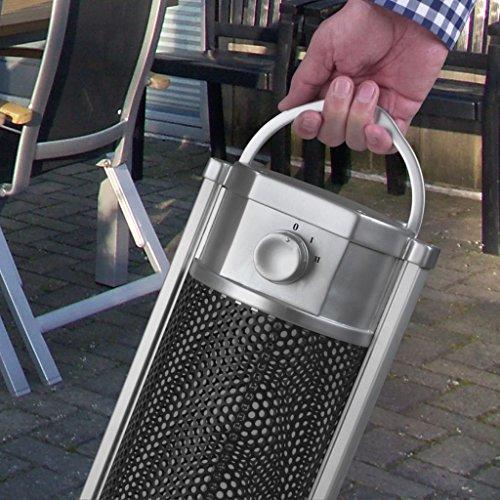 Eurom Table Heater 33.358.9 Tischheizung 900 Watt Tischheizstrahler Terrassenstrahler Heizgerät Heizgerät - 3