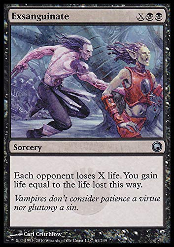 Magic The Gathering Exsanguinate - Scars of Mirrodin - Uncommon