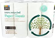 365 Everyday Value, 100% Recycled Paper Towels, 8 ct