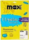 Oferta ETIQUETA LASER/INK REF.6284/84-0203 101,6X84,7 CX.C/25FLS por R$ 12.64