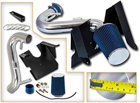 送料無料激安祭 Rtunes Racing Cold Air Intake Kit 日本限定 BLUE Compatible Filter Combo +