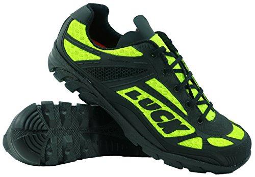 LUCK Zapatillas de Ciclismo Predator 18.0,con Suela de EVA Ideal para Poder adaptarte a Cualquier Terreno y disciplina Deportiva. (37 EU, Amarillo)