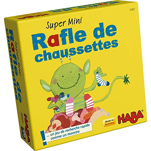 HABA- Super Mini Rafle de Chaussettes, 005481