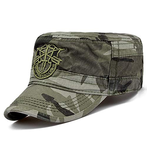 FHHYY militär mütze Vintage Armee Military Caps Hut Grün Berets Gorras Airborne Boina Visier Hüte Herren Soldat Gorras Hombre Sniper Flachen Hut,s