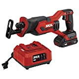 SKIL 20V Compact Reciprocating Saw, Includes 2.0Ah PWRCore 20 Lithium Battery and Charger - RS582902