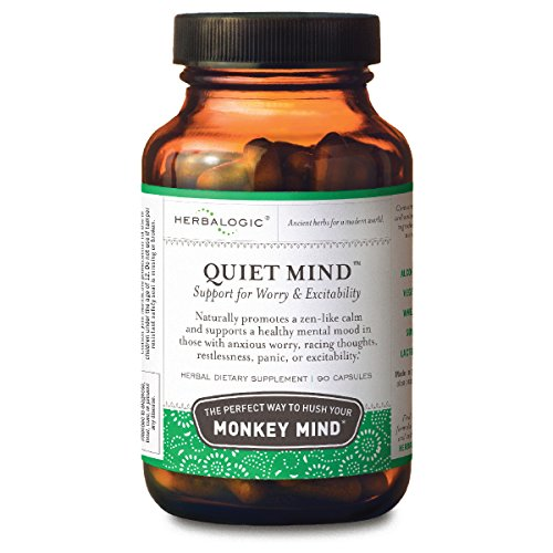 Quiet Mind Herbal Anxiety Relief Capsules, 90 ct.