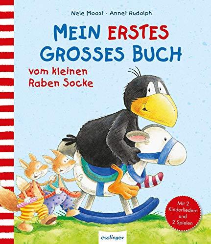 Der kleine Rabe Socke: Mein erstes großes Buch vom kleinen Raben Socke