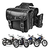 Leather Motorcycles Saddlebag Throw Over...