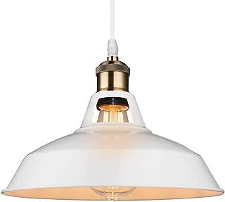 B2ocled Retro Pendant Light Industrial Vintage Style 1-Light E26/E27 Based Pendant Lighting for The Kitchen, Bedroom, Dining Room, Living Room