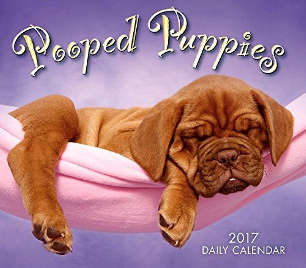 圧縮懸念豊富Pooped Puppies 2017 Calendar