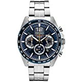 Seiko Men's Japanese Quartz Stainless Steel Strap, Silver, 0 Casual Watch (Model: SSB345)