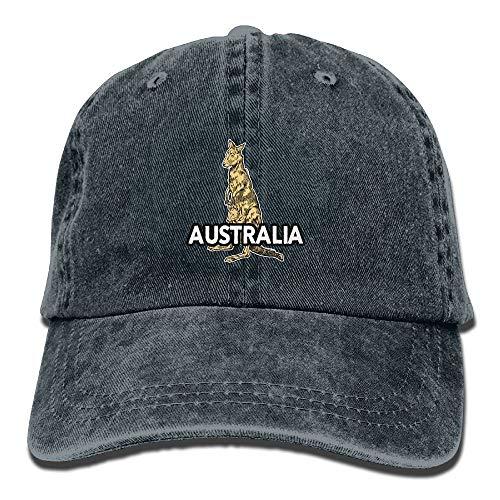 errterfte Stone Australian KangarAdult Cowboy Hat Baseball Cap for Men and Women Personalized Hat Comfortable Adjustable
