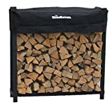 4' WOODHAVEN HEAVY DUTY FIREWOOD RACK AND COVER