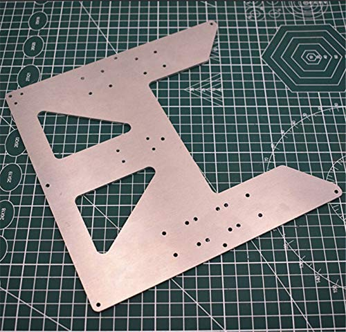 without 1pcs Aluminum BLV MGN12 MOD Prusa MK52 Heatbed Ycarriage For Prusa I3 Anet A8 A6 3D Printer Upgrading