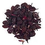 Aromas de té - infusión happy birthday 2016 con frambuesas arándanos bayas de saúco/infusión frutal con frutos rojos fresas - propiedades relajantes - contiene antioxidantes- 50 gr