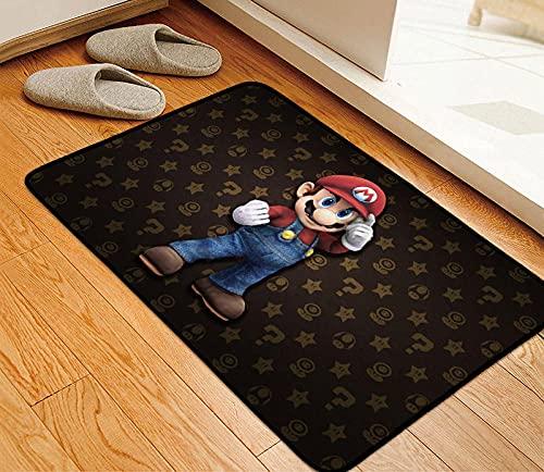 3D Super Mario - Alfombra para salón o salón (90 x 60 cm), Super Mario Bros-A_120x160cm