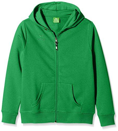erima Kinder Sweatjacke Hooded Jacket, Green, 164, 207335
