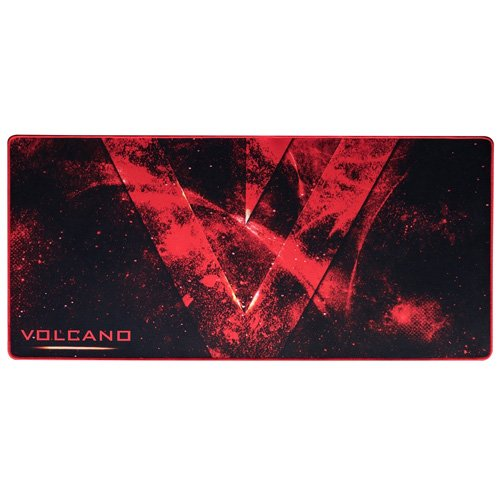 MODECOM Volcano Erebus Gaming Mousepad–schwarz/rot