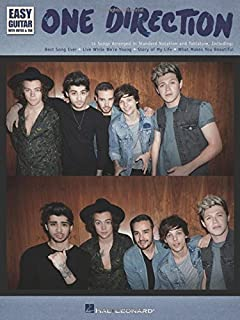 One Direction - Easy Guitar with Tab: Easy Guitar with Notes & Tab