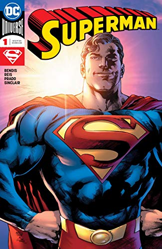 SUPERMAN #1 DC COMICS 2018 BENDIS MACK VARIANT COVER EDITION NM