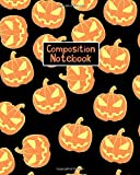 Composition Notebook: Halloween Themed College Ruled Notebook Vol 3
